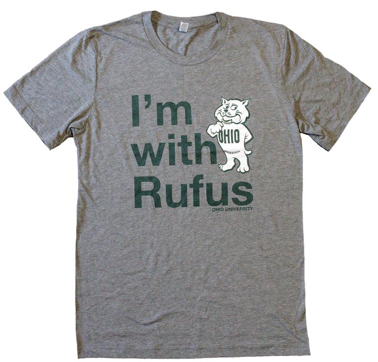 I'm With Rufus Ohio University T-Shirt