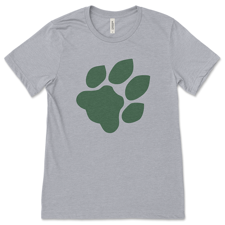 Ohio University Paw Print T-Shirt