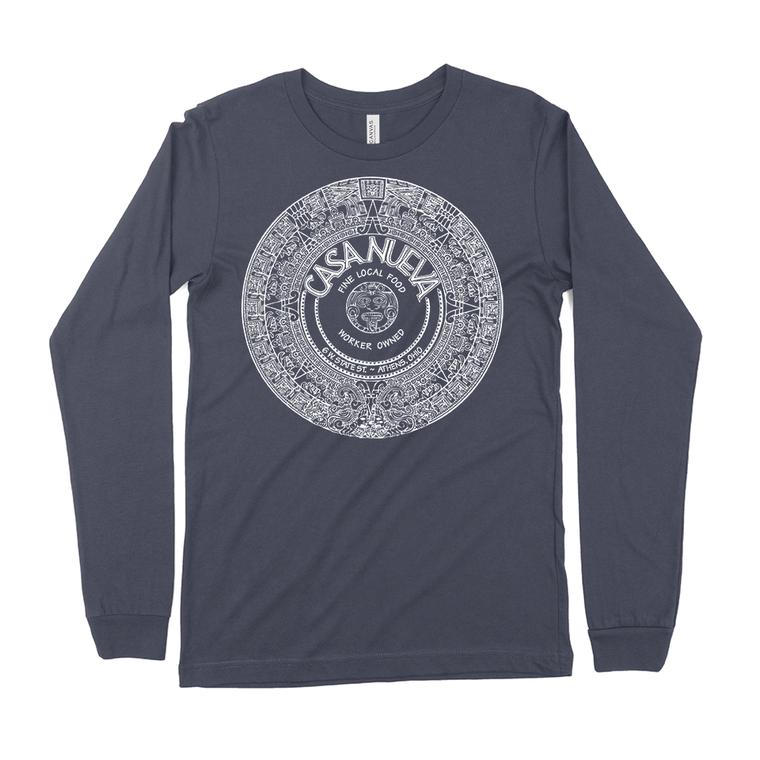 Casa Nueva Navy Blue Long-Sleeved T-Shirt
