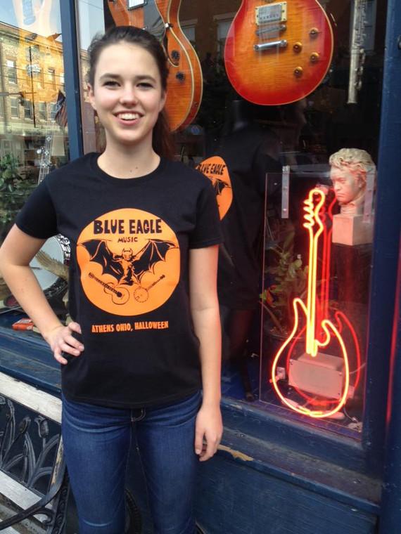 Blue Eagle Music Halloween T-Shirt