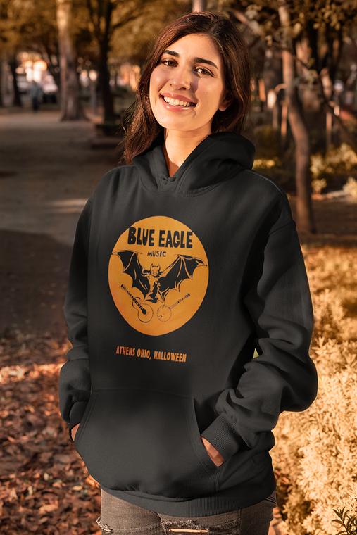 Blue Eagle Music Halloween Black Hoodie
