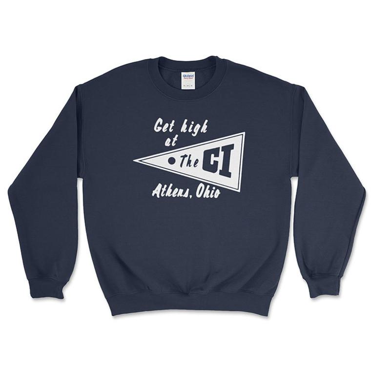 The C.I. Crewneck Sweatshirt - Navy Blue