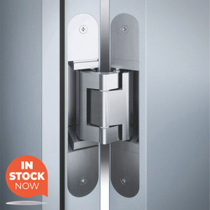 Tectus TE.340 Concealed Door Hinges - In Stock in 3 different finish options