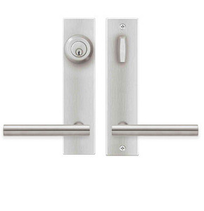 stainless interior door handles