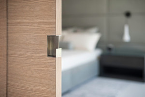 Pocket Door Edge Pull - For Wood