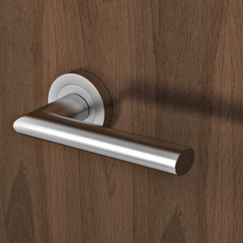 Stainless Steel U-Shaped Fire Door Handle Durable Passage Push Cupboard Handle