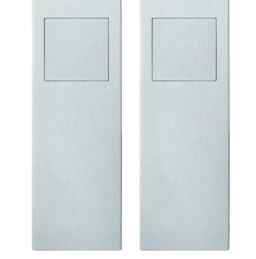 FSB 4255 09006 - Flush-pull set for double sliding doors