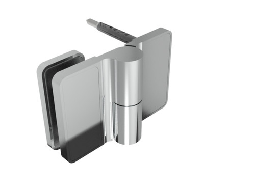 Mounting Option: Glass to Wall