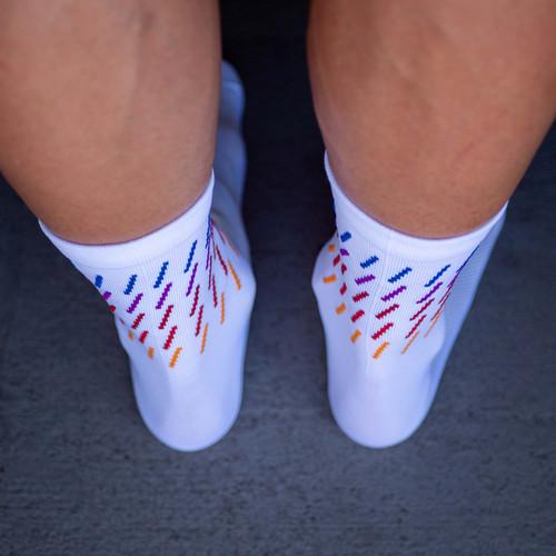 Equipe Team Vert Socks White