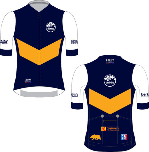Virtual Berkeley Hills Road Race Fundraiser Jersey men's
