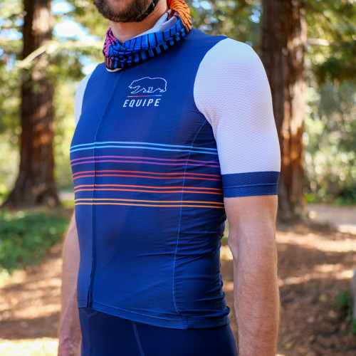 Navy Stripes men's jersey
