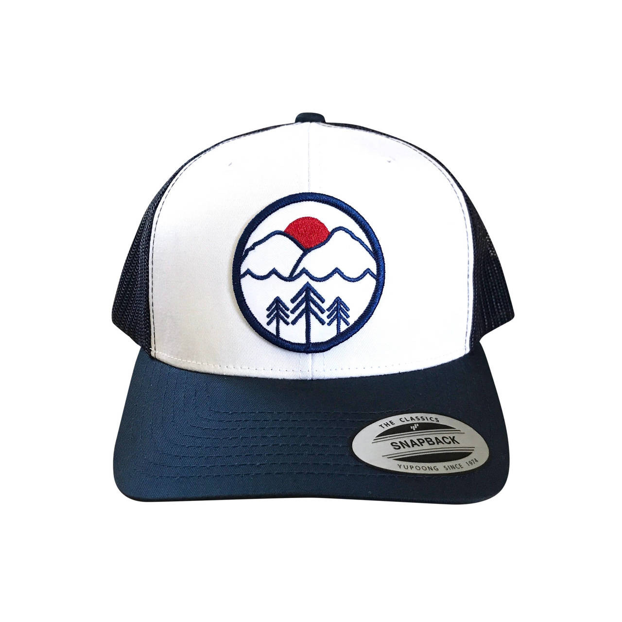 41bc7035310b1 Pacific Northwest adult trucker hat