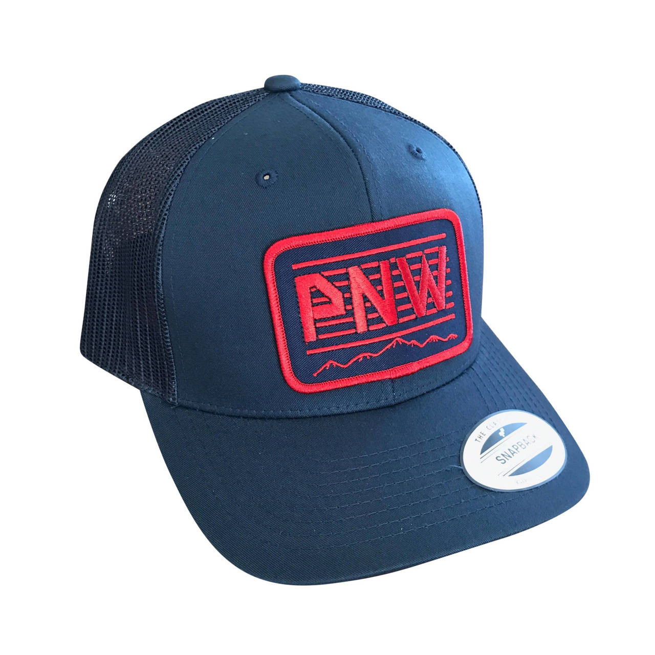 5f39cea0 PNW Red adult trucker hat | Sweetpea and Boy