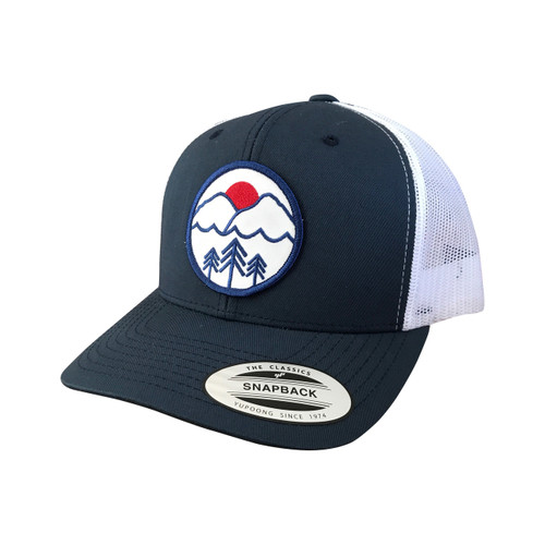 b07aca616e270 ... Pacific Northwest adult trucker hat