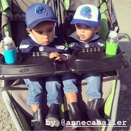a9659d88 Seattle Football Hawks Helmet Kickers baby & toddler foam trucker hat