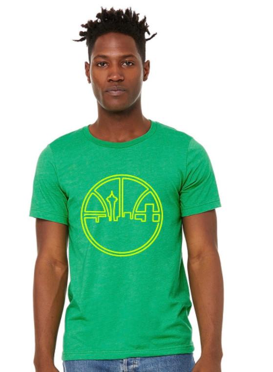 Seattle Basketball Throwback mens/unisex t-shirt