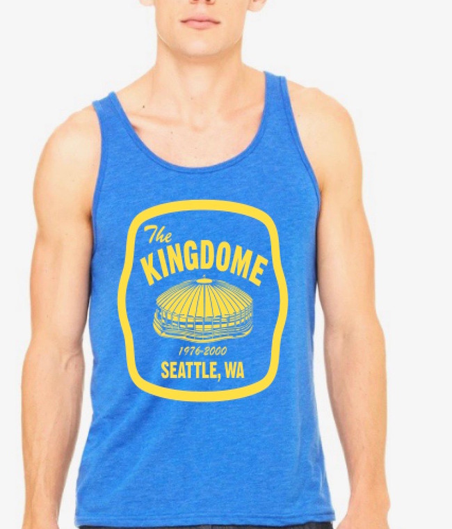 Kingdome Patch mens/unisex tank