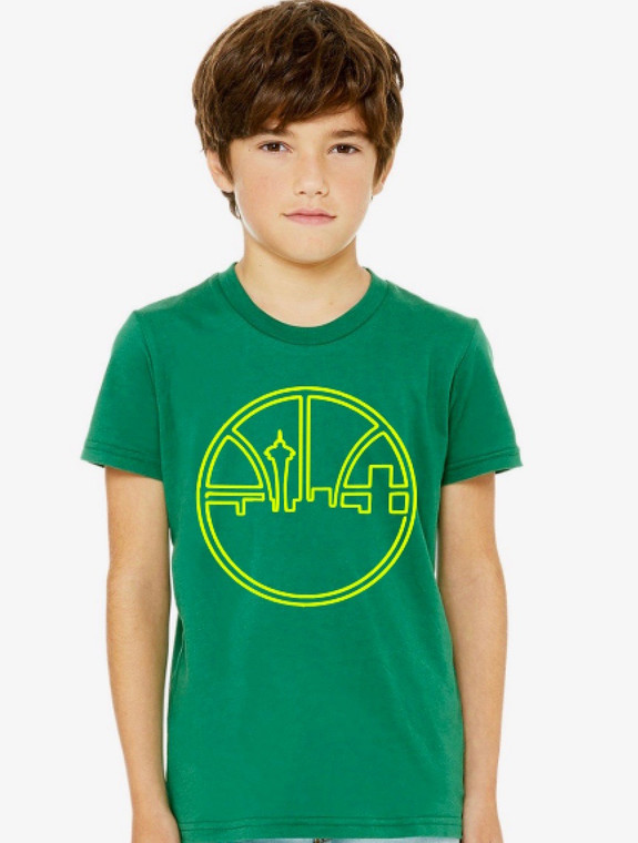 Seattle Basketball Throwback unisex baby and kids t-shirt (1)