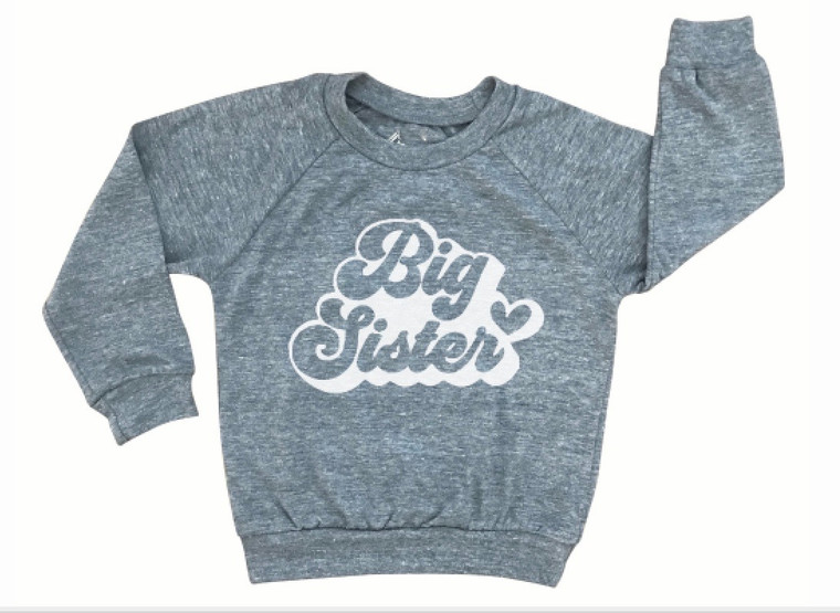 Big Sister baby & kids long sleeve