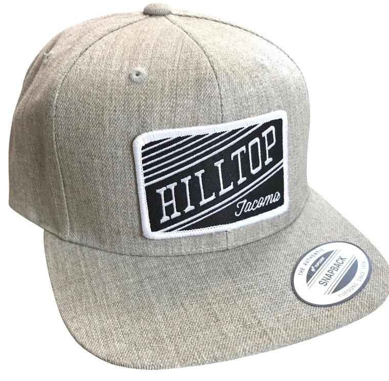Hilltop Tacoma adult wool snapback hat (1)