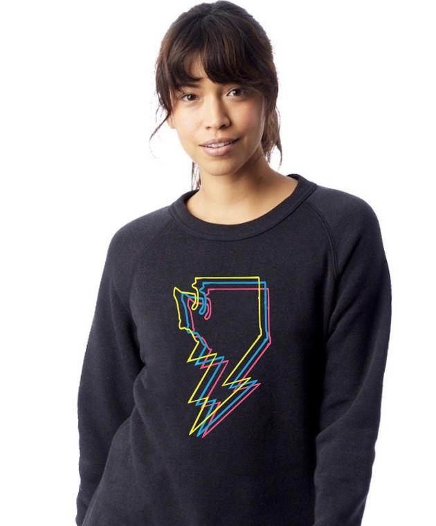 Bolt unisex crewneck sweatshirt (1)