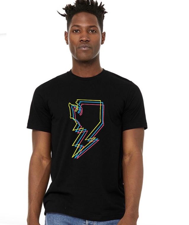 Washington Bolt mens/unisex t-shirt (1)