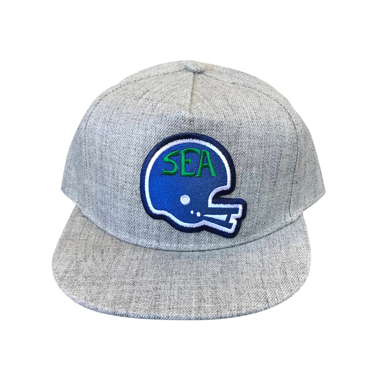 Seattle Football Hawks Helmet baby and toddler wool hat