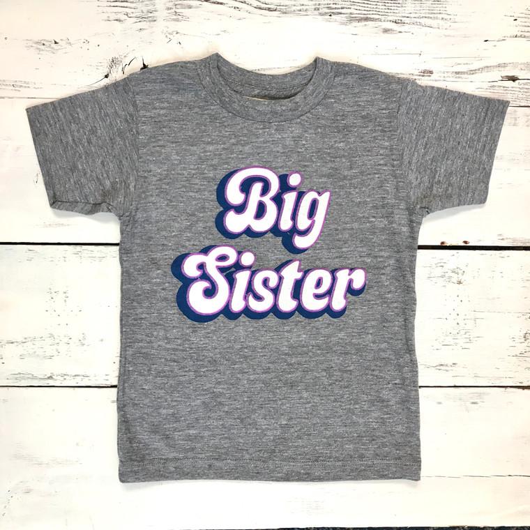 Big Sister baby & kids t-shirt