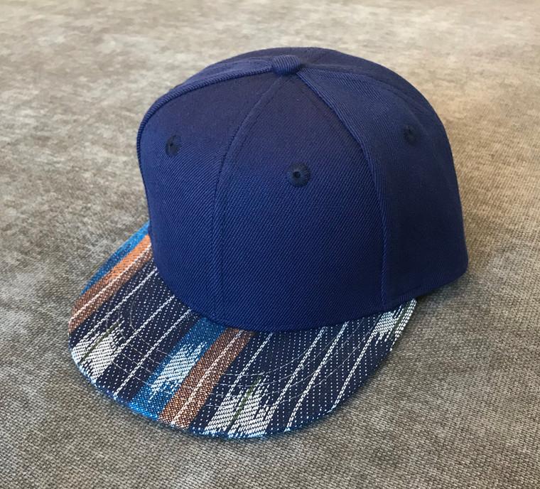 Serape Dark Blue toddler trucker hat