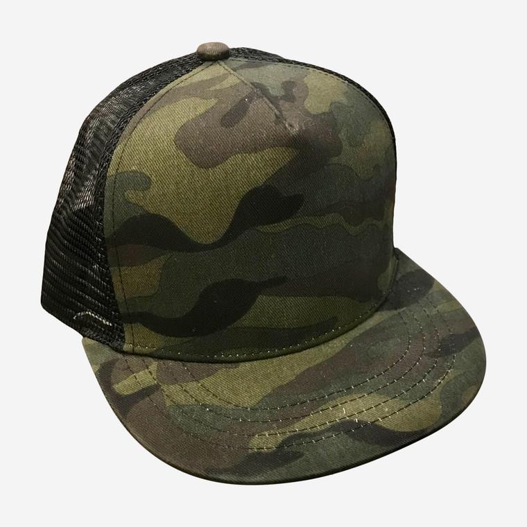Camo toddler trucker hat