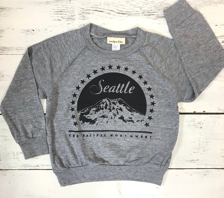 Seattle Movie baby and kids long sleeve