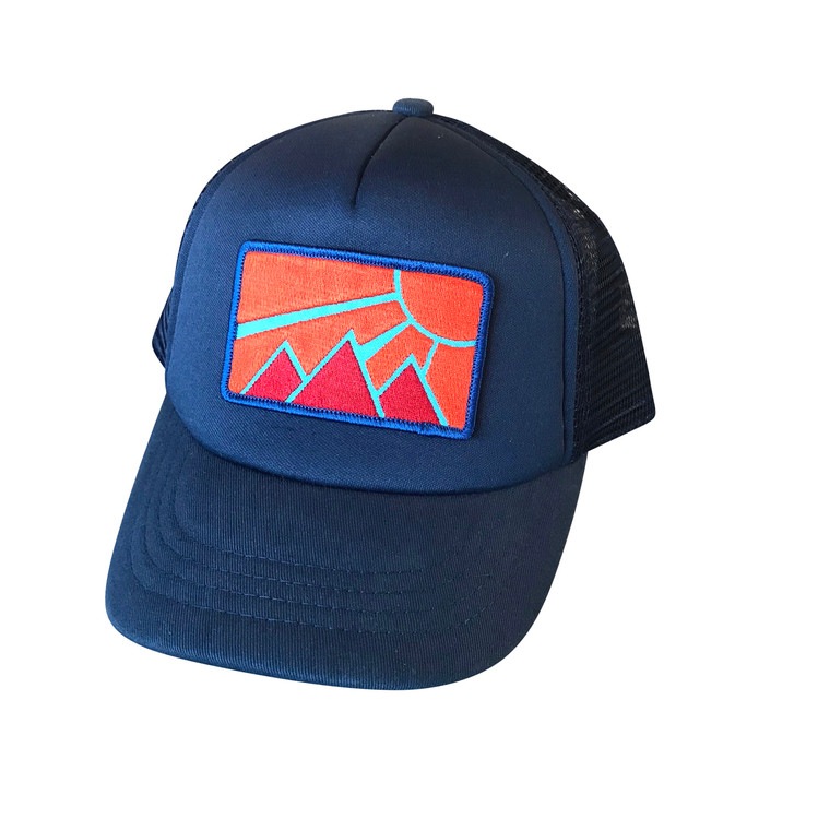 Imperial Sun baby and toddler trucker hat