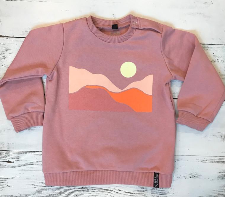 Desert Rose unisex baby and kids sweatshirt