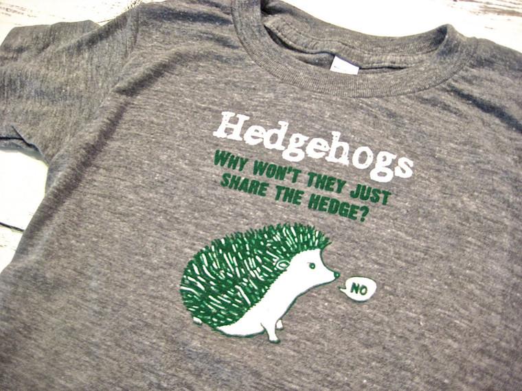 Funny Hedgehog baby & toddler t-shirt
