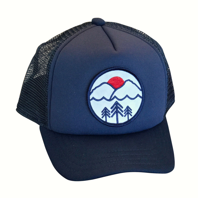 Pacific Northwest baby and toddler trucker hat