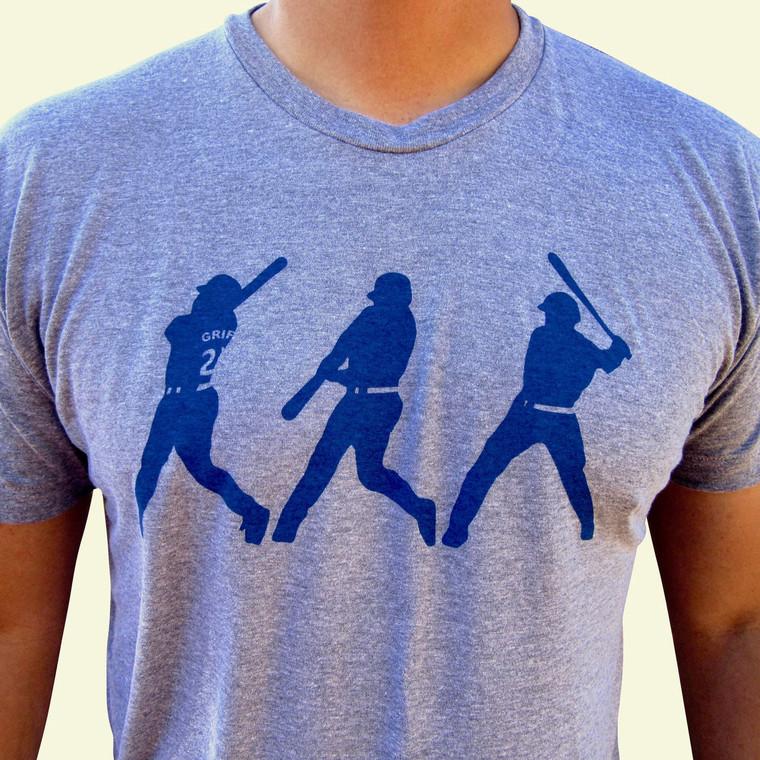 Ken Griffey Jr. mens/unisex t-shirt (grey)