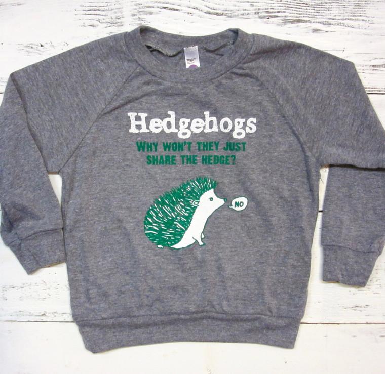 Hedgehog baby & toddler long sleeve