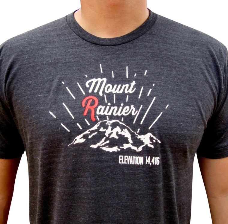 Mount Rainier mens/unisex t-shirt