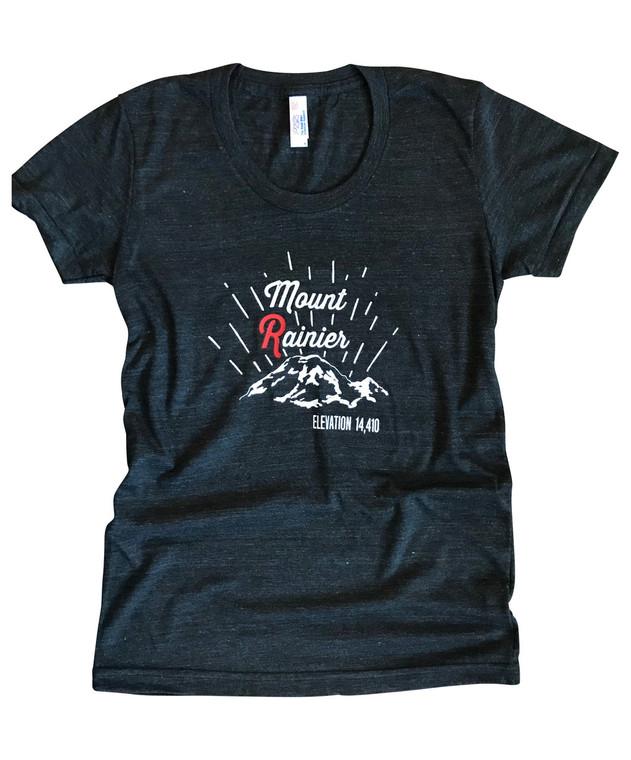 Mount Rainier womens t-shirt