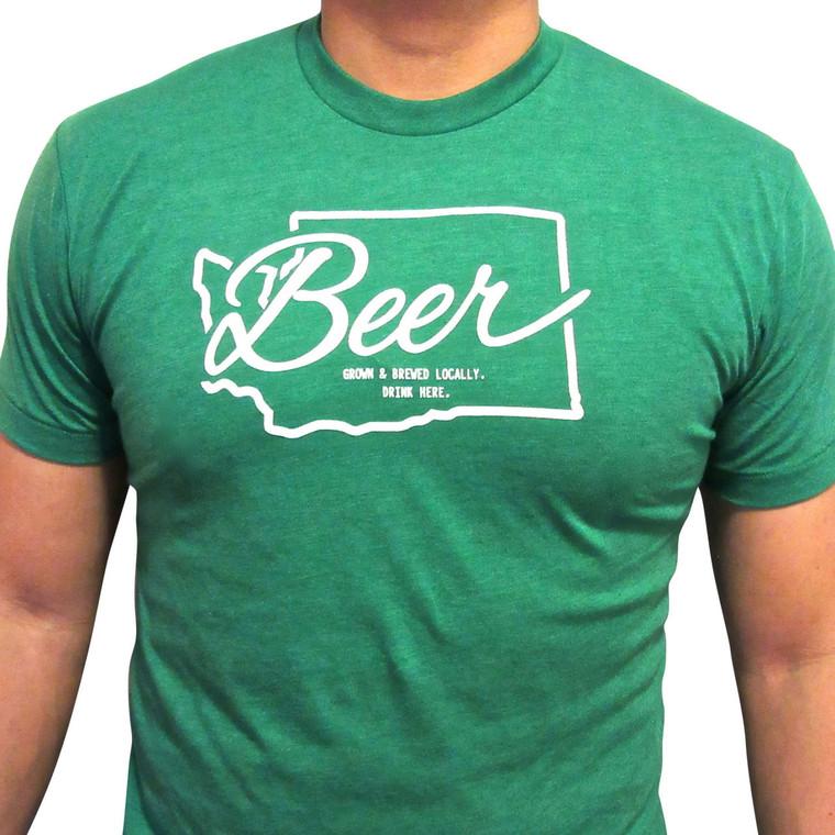 Washington Beer mens/unisex t-shirt