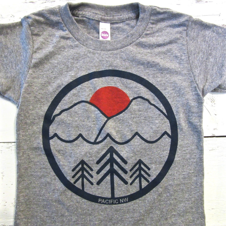 Pacific Northwest baby and toddler t-shirt
