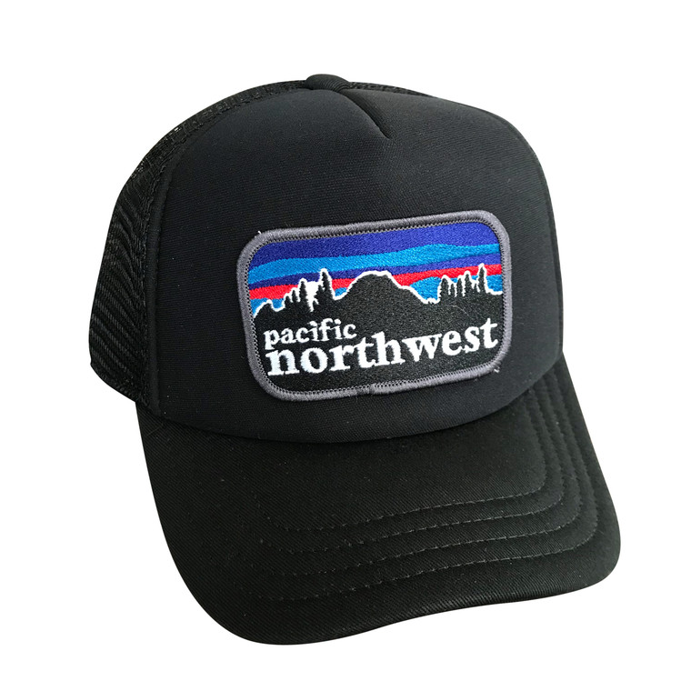 Pacifica NW baby and kids adjustable trucker hat