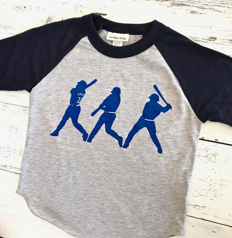 Ken Griffey Jr. baby and kids baseball shirt
