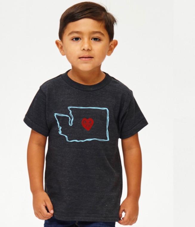 Washington Love baby & kids t-shirt