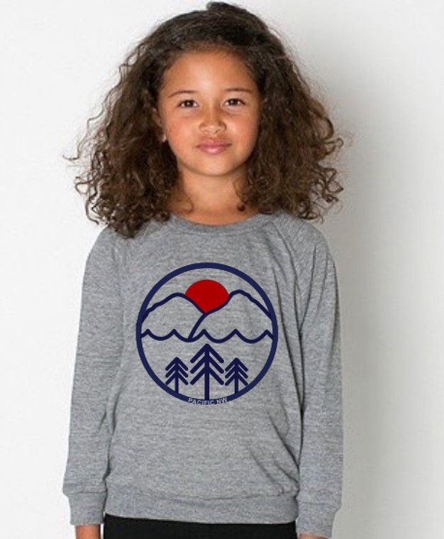 Pacific Northwest baby & toddler long sleeve
