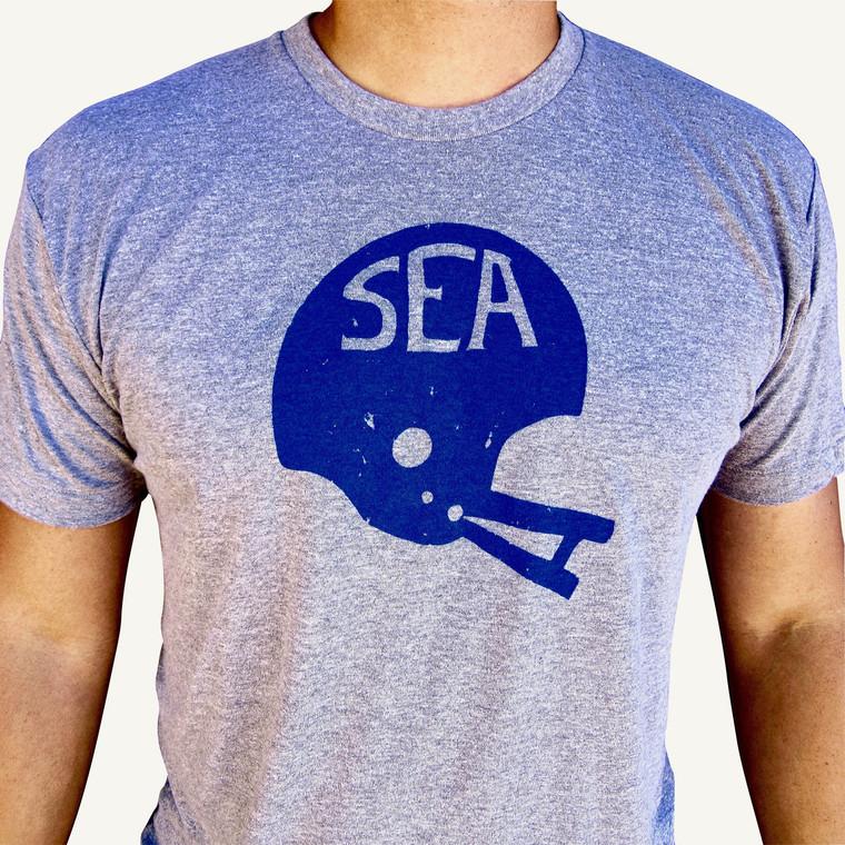 Seattle Football Hawks Helmet mens/unisex t-shirt