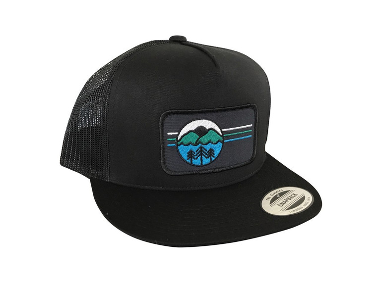I Love the Outdoors adult trucker hat