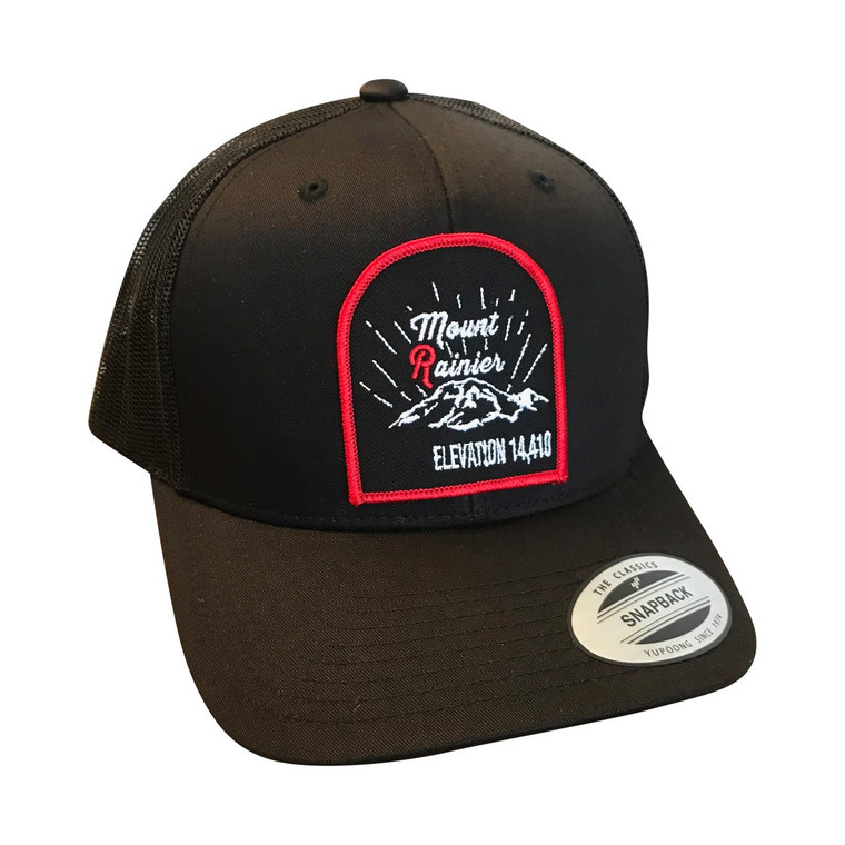 Mount Rainier adult trucker hat