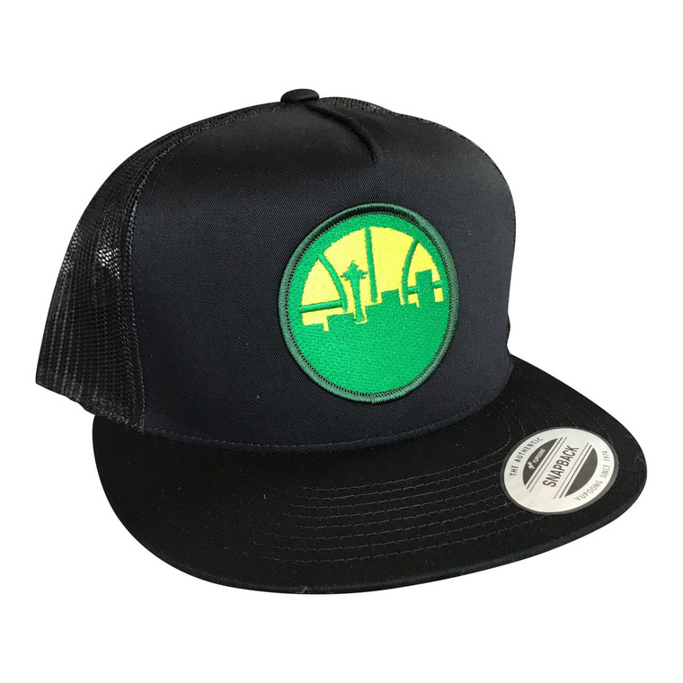 Seattle Basketball adult trucker hat