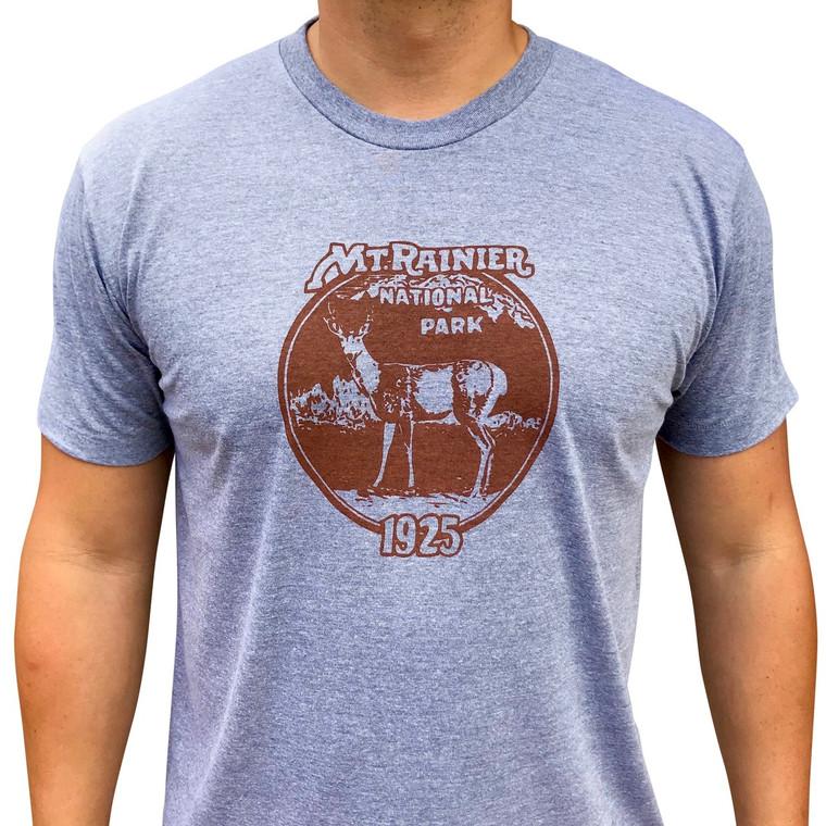 Rainier Deer men's t-shirt